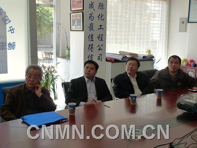 张涛)  3月11日下午,集团副董事长,股份公司总裁沈鹤庭在北京总部会见