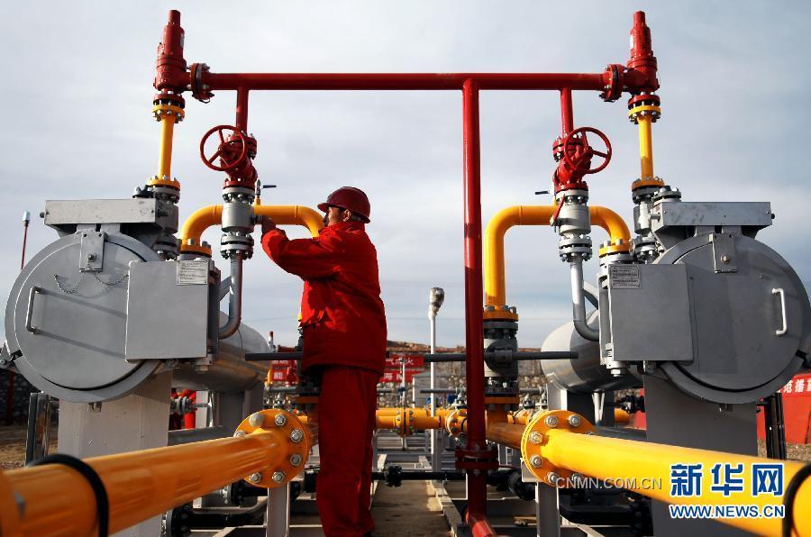 当日,青海省海南藏族自治州共和县天然气利用项目在恰卜恰门站顺利
