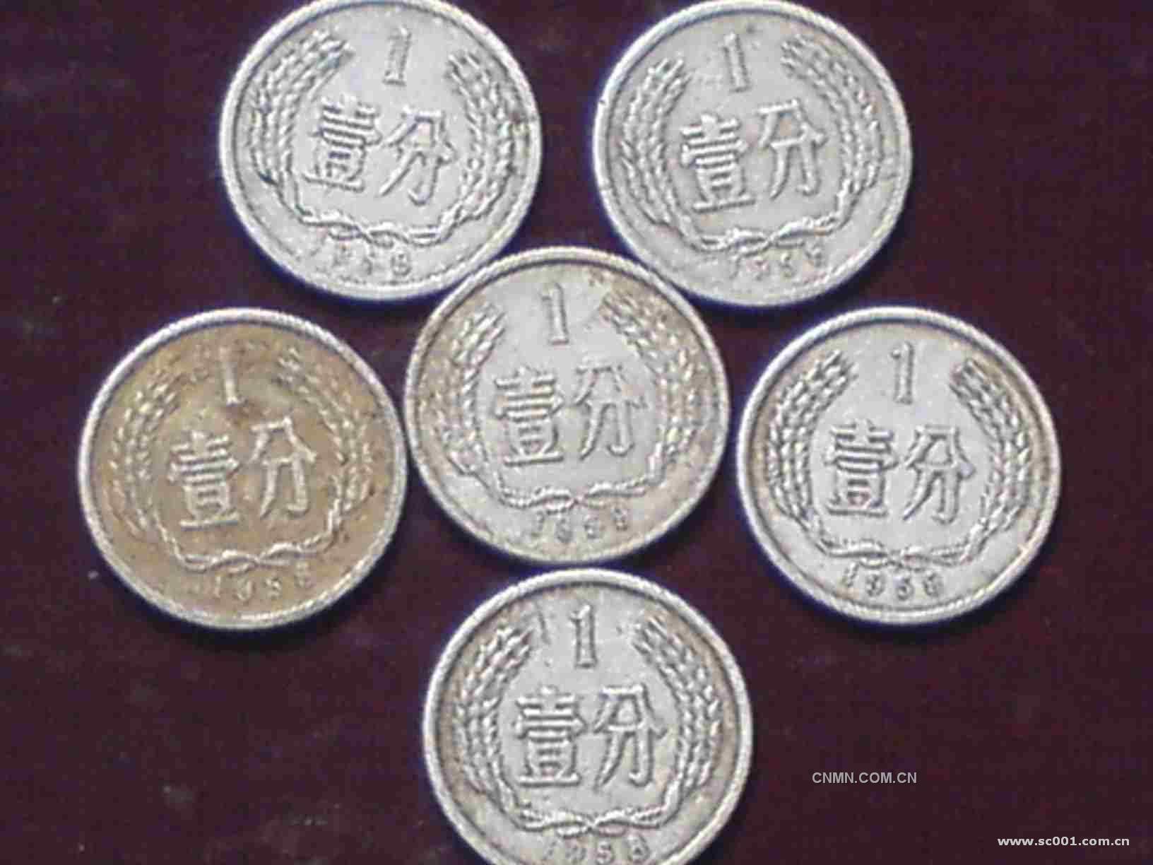 分币价直线涨 部分硬币市场价几千元-金银器-中