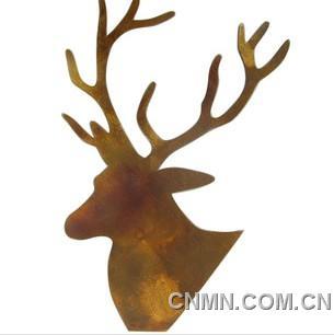 鹿头logo素材