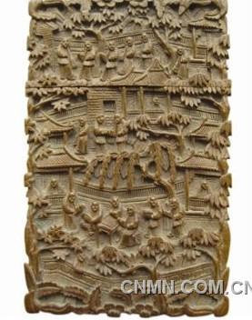 古代金属动物造型盒子