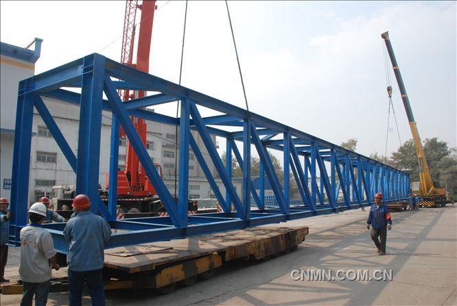 桁架桥梁车施工方案