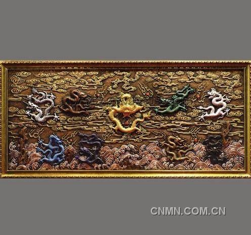 当今技艺锻錾针灸第一人:孟德仁-金属-中国有色铜器胡光视频图片