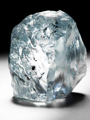 南非发现122克拉罕见蓝钻石矿石-有色金属新闻-中国有
