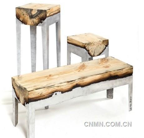 创意的家具设计当木头遇上铝铅锌锡器-有色金属新闻