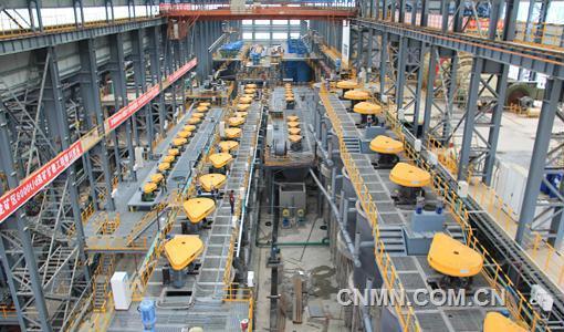 中冶恩菲设计国内最大多金属矿选矿厂竣工验收