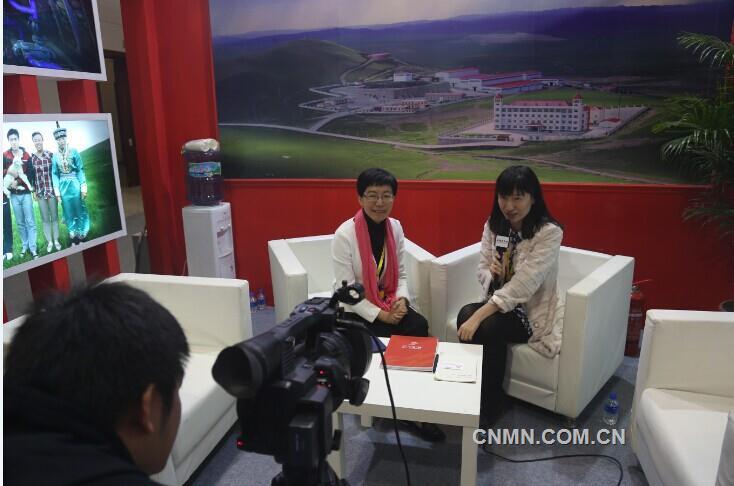 盛屯矿业集团总裁 应海珍女士接受本网记者采访