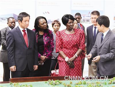 赞比亚经贸合作区成为当地发展引擎