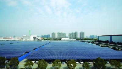 在江宁胜太西路上海大众汽车有限公司南京分公司厂区内,有一个面积