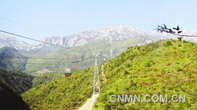 中国恩菲设计的江西灵山客运索道运营