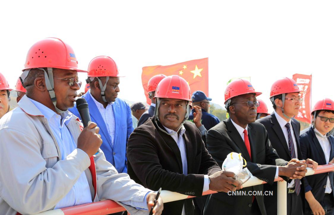 刚果(金)总统近日考察华刚矿业项目