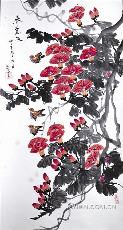 【国画】春意浓