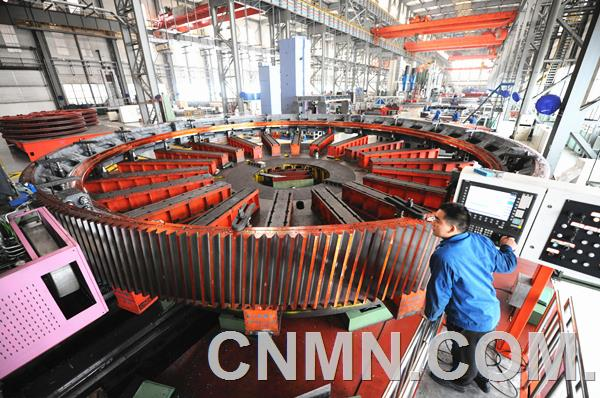 中信重工用质量和信誉做好国内外大型磨机市场