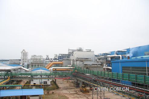 五矿铜业金铜项目火法系统投产