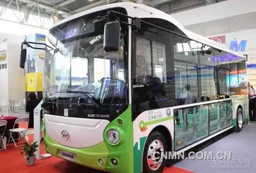 轻量化明星爱普全铝车身参加2016道路运输展