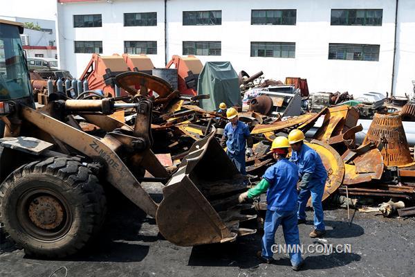 安庆铜矿废旧物资管理有章法