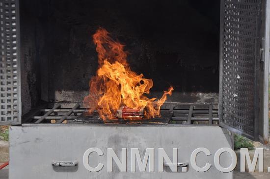 新型灭火剂成为新能源锂电池火灾克星