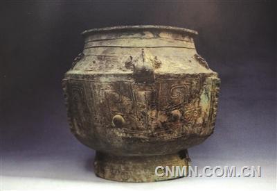 青铜器皿喝乌梅汁四十年不锈