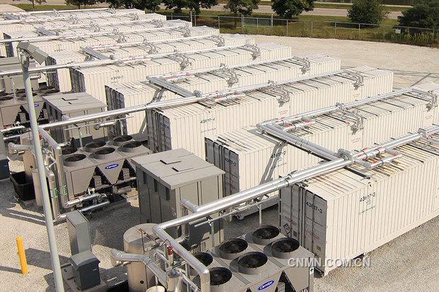 灾难事故过去后,当地政府指令建造几座锂电池蓄电站,以补充燃气电厂图片