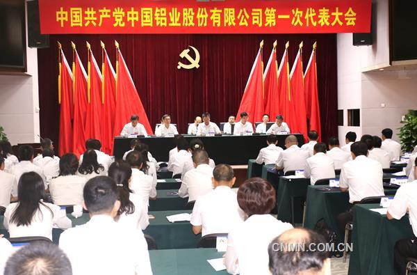 中共中国铝业股份有限公司党委成立大会召开