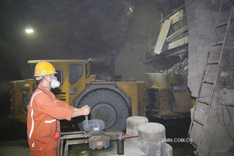 冬瓜山大团山工区生产势头喜人