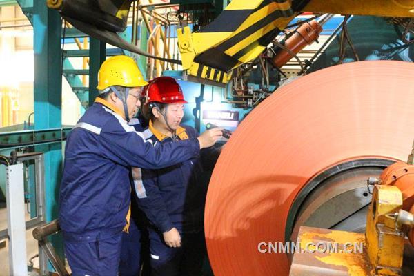 中铝华中铜业二期项目成功轧制出0.05毫米铜板带材