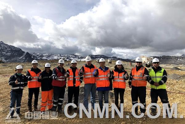 中国铜业总裁武建强到中铝秘鲁矿业公司检查指导工作