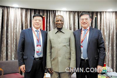 """""""红土之国""""的希望使者——赢联盟几内亚铝土矿项目开发纪实"""