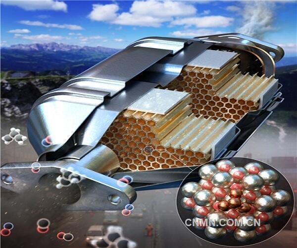与汽车尾气净化现有的柴油氧化催化剂相比,新开发的催化剂在50度的低温条件下也可实现100%的转化。与现有的单原子催化剂、纳米粒子催化剂不同,集合体催化采用了金属集合体位点?(ensemble?site)?的理念,有望广泛应用于各种领域。 此次研究成果已经刊载于化学领域的国际权威杂志《Journal?