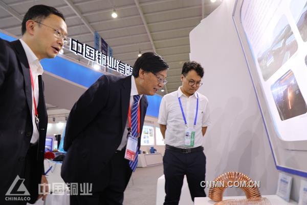 6月14日-20日,第5届中国—南亚博览会、第25届中国昆明进出口商品交易会、第1届中国—南亚合作论坛在昆明滇池国际会展中心隆重举行。中国铜业首次精彩亮相南博会,在制造业馆和新材料馆精心搭建了两个展台,吸引了众多嘉宾和媒体关注。