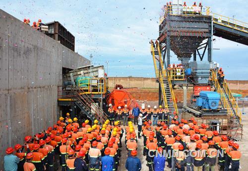 紫金矿业非洲又创庆祝什么新奇迹Ψ� 刚果(金)铜(钴)矿湿法厂9个月建成投产