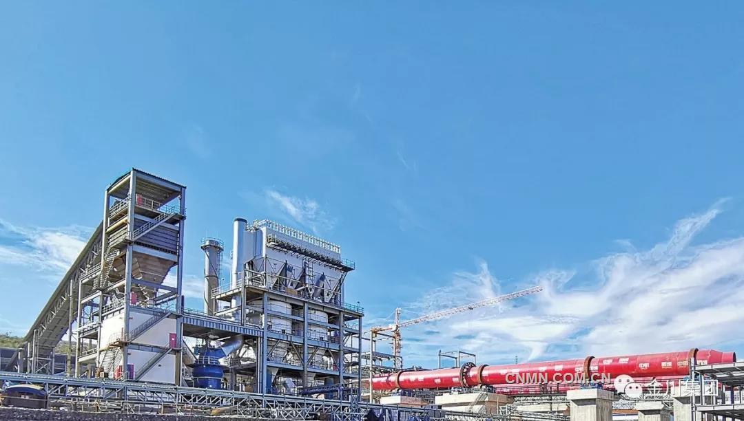 金川集团印尼WP&RKA项目打通全部生产经营流程