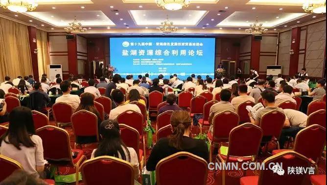 盐湖镁产业为市场提供高质量供应保障 2019青洽会盐湖资源综合利用论坛在西宁举办