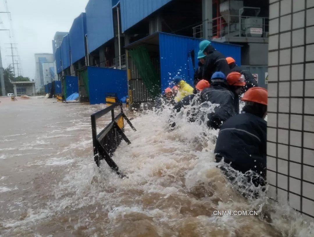 利奇马袭来!魏桥创业人众志成城奋力抗击洪涝