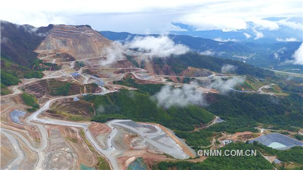 米拉多铜矿采矿场