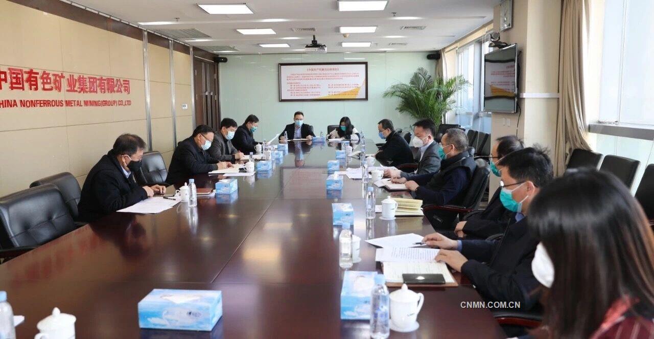 众志成城 志在打赢 中国有色集团党委进一步深入研究部署疫情防控工作