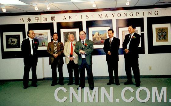 安省中国美术馆开幕式1