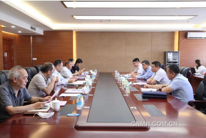 葛红林会见山东鑫海董事长王文龙一行