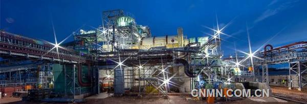 卡库拉铜矿一序列采选工程整体施工已完成90%