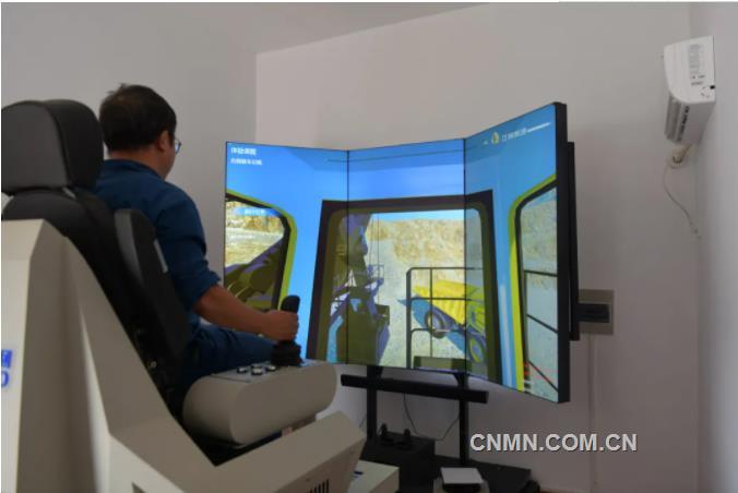 VR模拟驾驶助力江铜技能培训再上新台阶