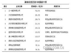 晟通集团领跑2014湖南民营企业100强
