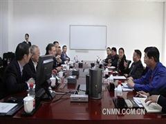 美铝执行副总裁一行到访晟通集团
