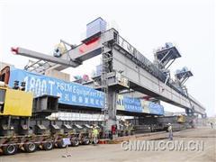 SDI 1800架桥机载重试车成功