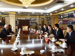 国际铝协秘书长访问山东魏桥创业集团