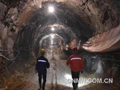 铜冠矿建公司中标国内金属矿山第一深井工程