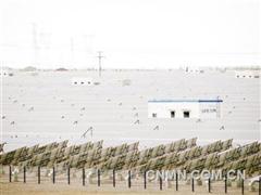 甘肃敦煌为世界大规模光伏电站项目提供了范本