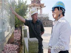 河南省委统战部常务副部长孟令峰考察紫金山