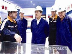 葛红林调研中铝山西企业、华泽铝电、华圣铝业
