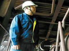 有色人物:铜冠冶化分公司硫酸车间排渣工洪流