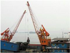 铜冠物流金城码头装卸铜精砂 新年首月开门红